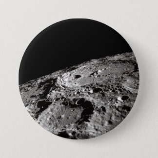 Chapa Redonda De 7 Cm superficie lunar