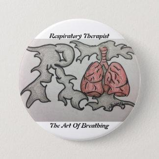 Chapa Redonda De 7 Cm Terapeuta respiratorio