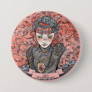 Chapa Redonda De 7 Cm Zodiaco de Lolita