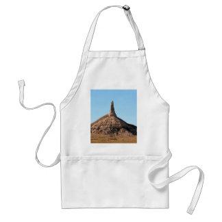 Chapitel de la roca de la chimenea de Scottsbluff Delantal