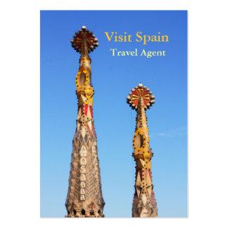 Chapiteles de Sagrada Familia Tarjeta De Visita