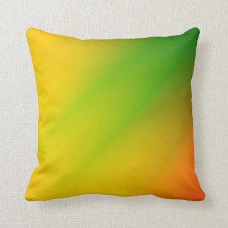 Chapoteo de Rasta del color Cojín Decorativo
