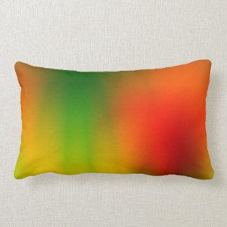 Chapoteo de Rasta del color Cojín Lumbar