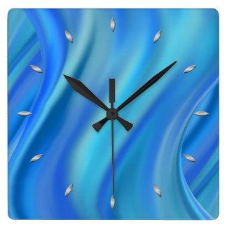 chapoteo reloj cuadrado