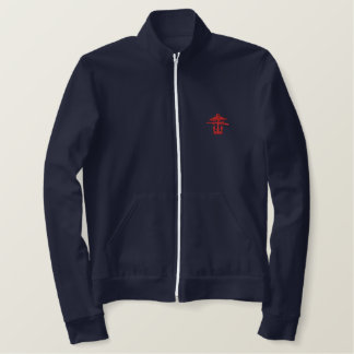 Chaqueta Bordada Combined ops fleece