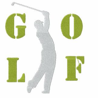 Chaqueta de chándal bordada golf