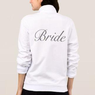 Chaqueta del paño grueso y suave de la novia