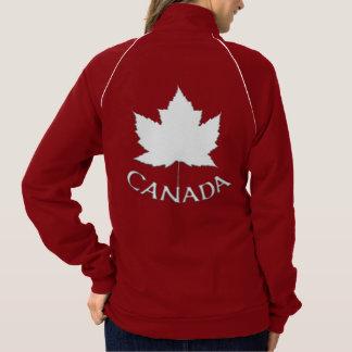Chaqueta del recuerdo de la bandera de Canadá de