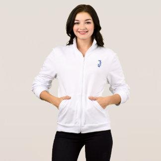chaqueta para mujer del blanco de la ropa de