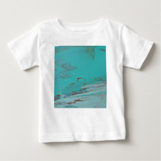 Charca de cobre camiseta de bebé