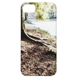 Charca del bosque funda para iPhone SE/5/5s