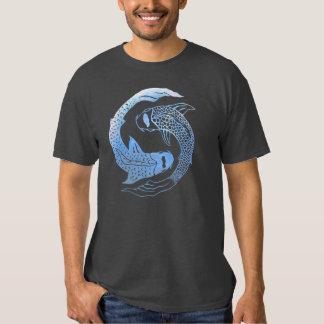 Charca Yang de Yin Koi Camisetas