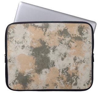 Charco de fango abstracto funda para portátil