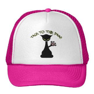 Charla al gorra de la pata
