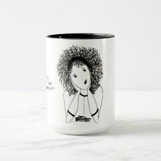 Charla del chica taza