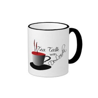 Charla del té con la taza de DeLonda