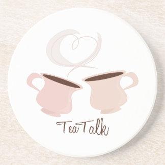 Charla del té posavasos personalizados