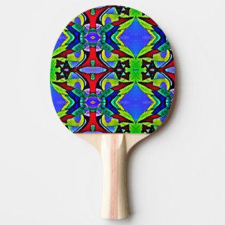 Charla feliz pala de ping pong