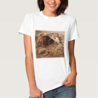 Charles Marion Russell - caza del búfalo Camisas