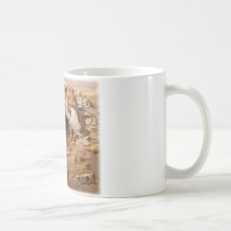 Charles Marion Russell - caza del búfalo Tazas De Café