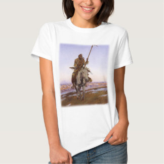 Charles Marion Russell - indio del Cree Camisetas