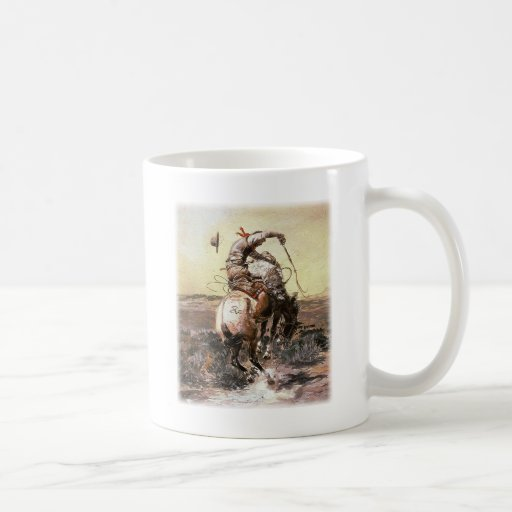 Charles Marion Russell - jinete pulido Taza