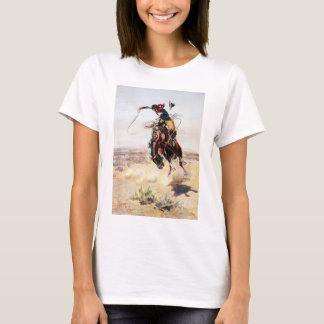 Charles Marion Russell un mún Hoss Camiseta