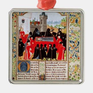 Charles VI del entierro de Francia Ornatos