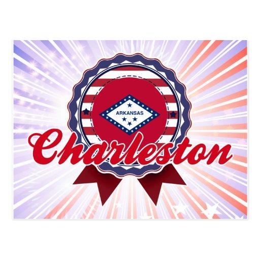 Charleston, AR Tarjeta Postal