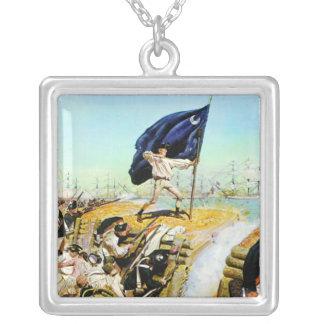 Charleston, Carolina del Sur junio de 1776 Colgante Cuadrado