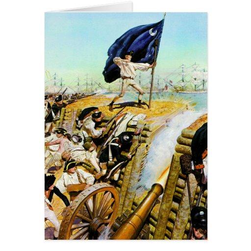 Charleston, Carolina del Sur junio de 1776 Tarjetas