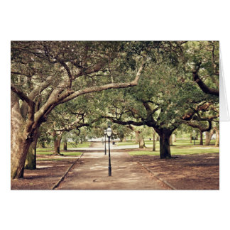 Charleston cultiva un huerto tarjeta de felicitaci