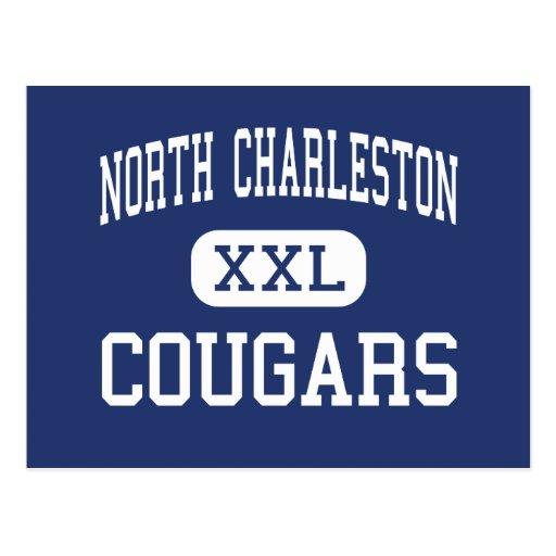 Charleston del norte - pumas - Charleston del nort Tarjetas Postales
