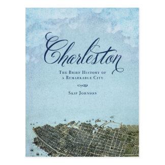 Charleston el libro - arte de la cubierta postal