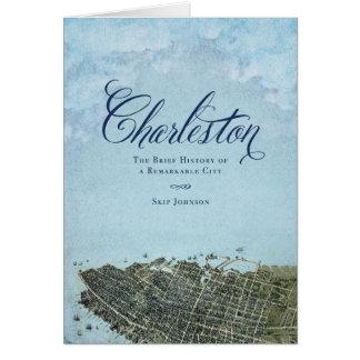 Charleston el libro - arte de la cubierta tarjeta de felicitación