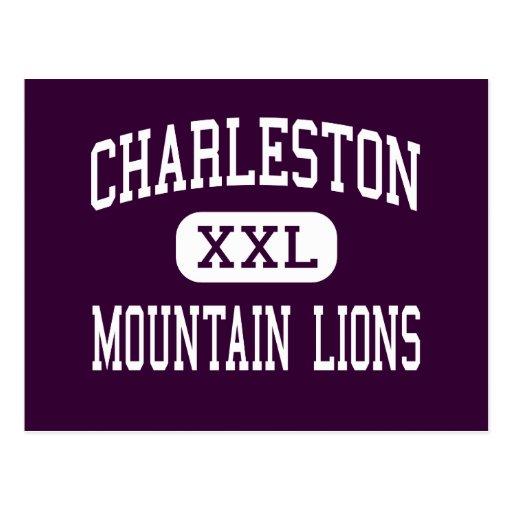 Charleston - leones de montaña - alta - Charleston Tarjetas Postales