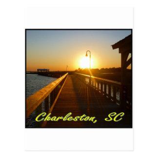 Charleston, puesta del sol del SC Postal