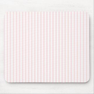 Charlotte rosada y el blanco raya rosas bebés alfombrilla de ratón