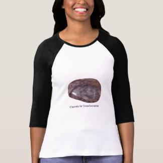 Charoite para la camiseta de la transformación