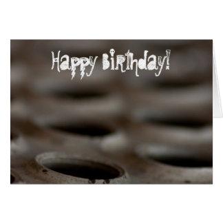 Chatarra Feliz cumpleaños Felicitación
