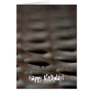 Chatarra; Feliz cumpleaños Tarjeta De Felicitación