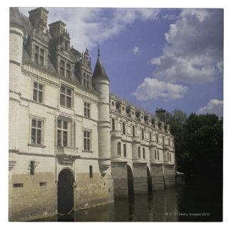 Chateau de Chenonceau en Francia Azulejo Cuadrado Grande