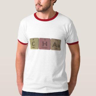 Chau como oro del hidrógeno del carbono camisas