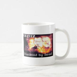 Chavez asesinó por Israel Tazas De Café