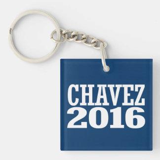 Chavez - Chavez rocoso 2016 Llavero Cuadrado Acrílico A Doble Cara