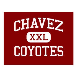 Chavez - coyotes - escuela secundaria - La Joya Postal