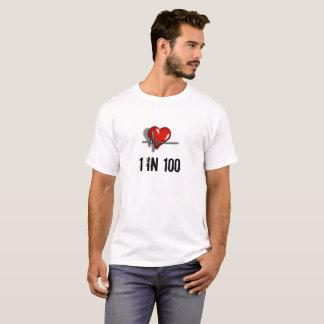 CHD fuerte vivo y enfermedad cardíaca Awearness Camiseta