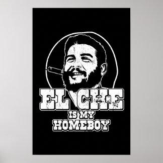 Che Guevara es mi Homeboy Póster