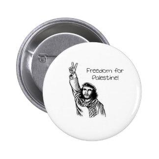 ¡Che Guevara, libertad para Palestina! Chapa Redonda 5 Cm