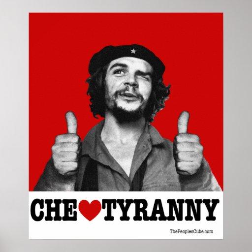 Che Guevara - poster de la tiranía del corazón de